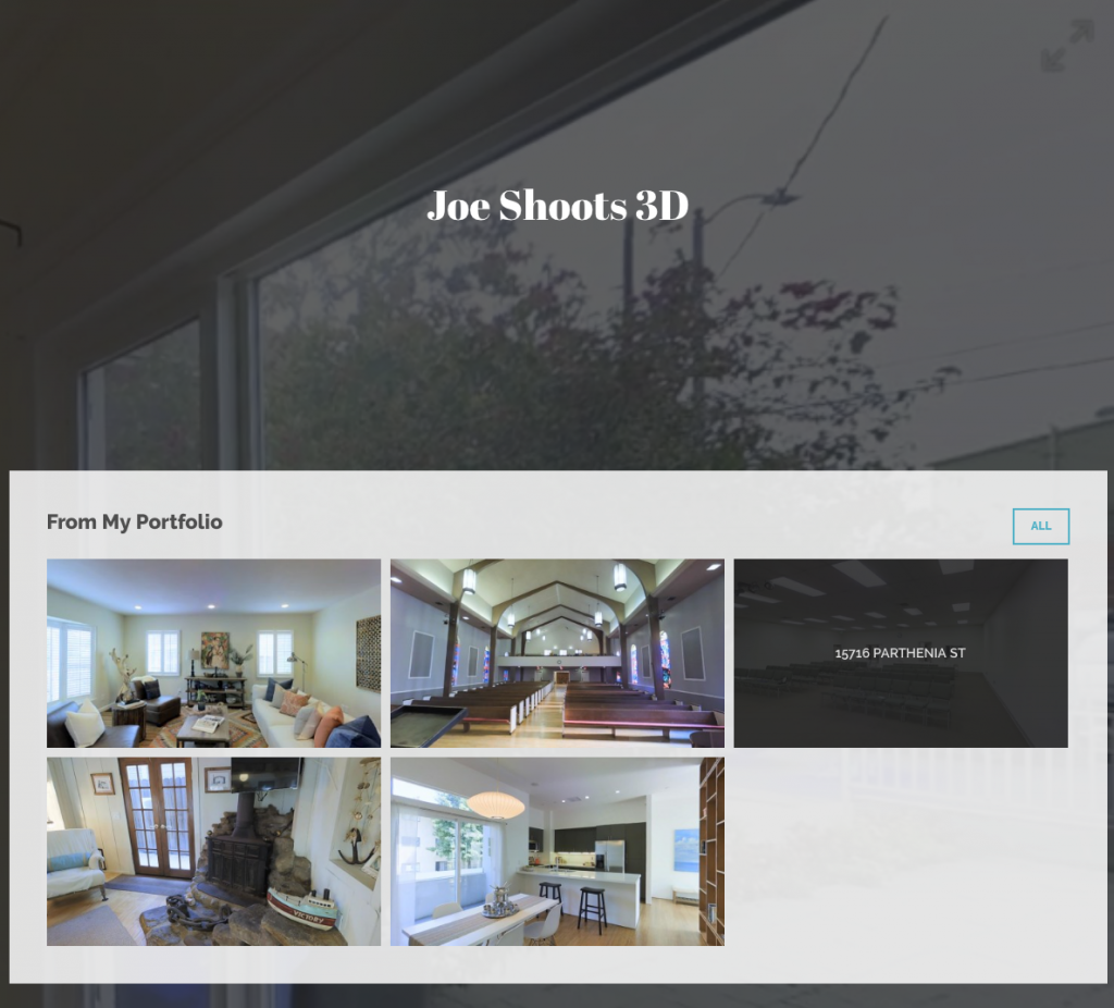 JoeShoots3D Website