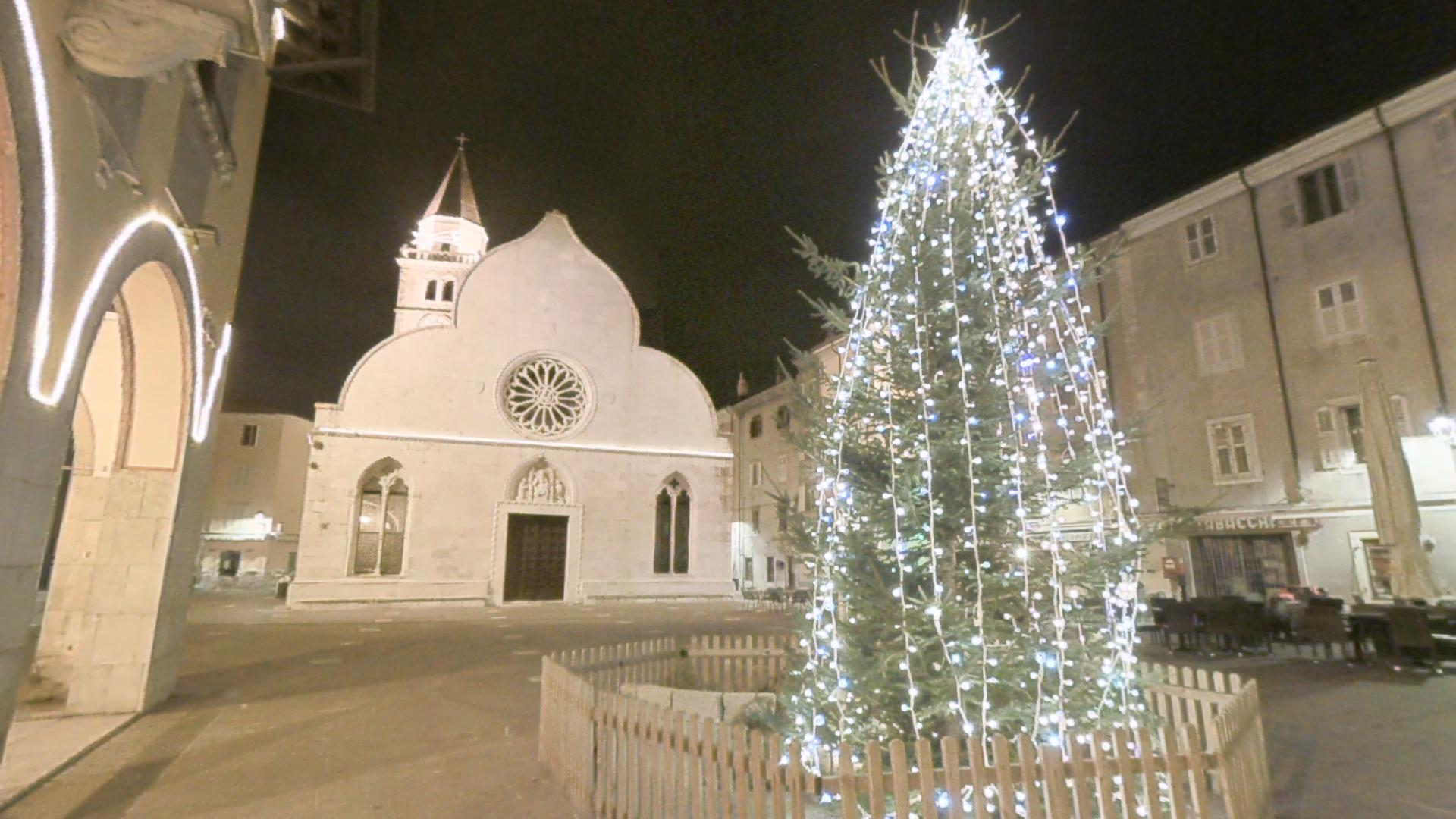 Piazza Marconi at Christmas