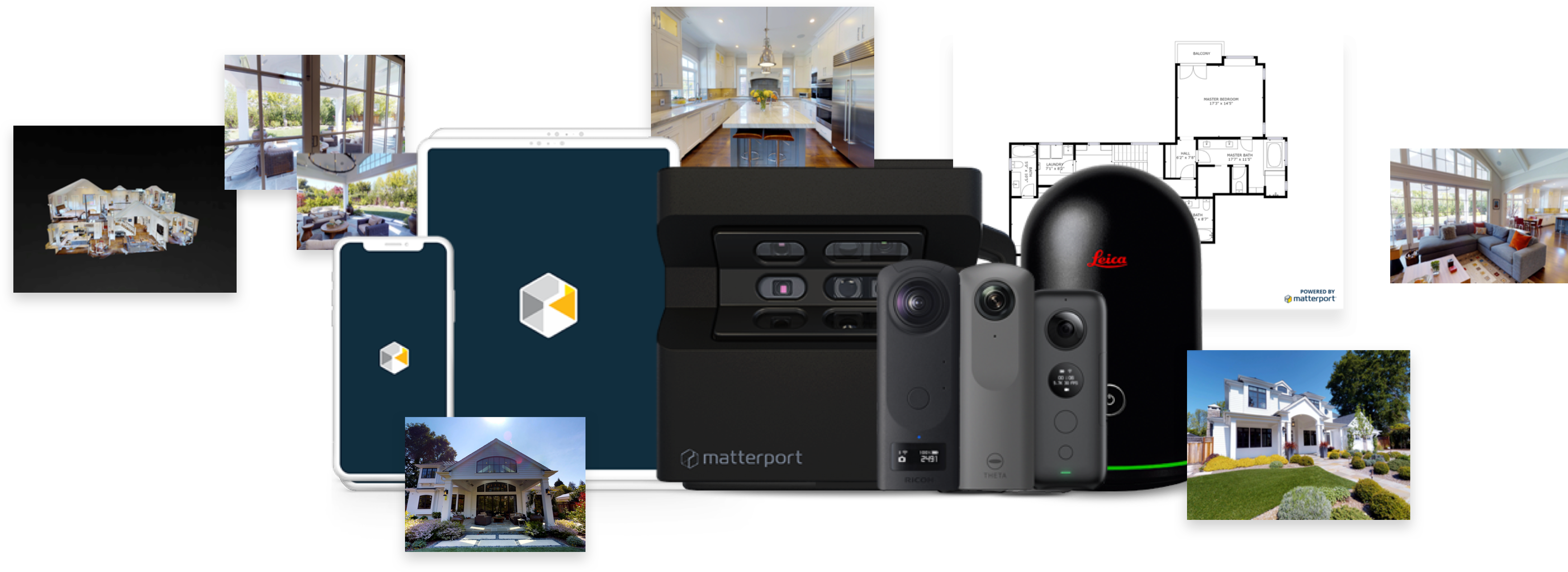Matterport offers a variety of products for distrubing 3D models