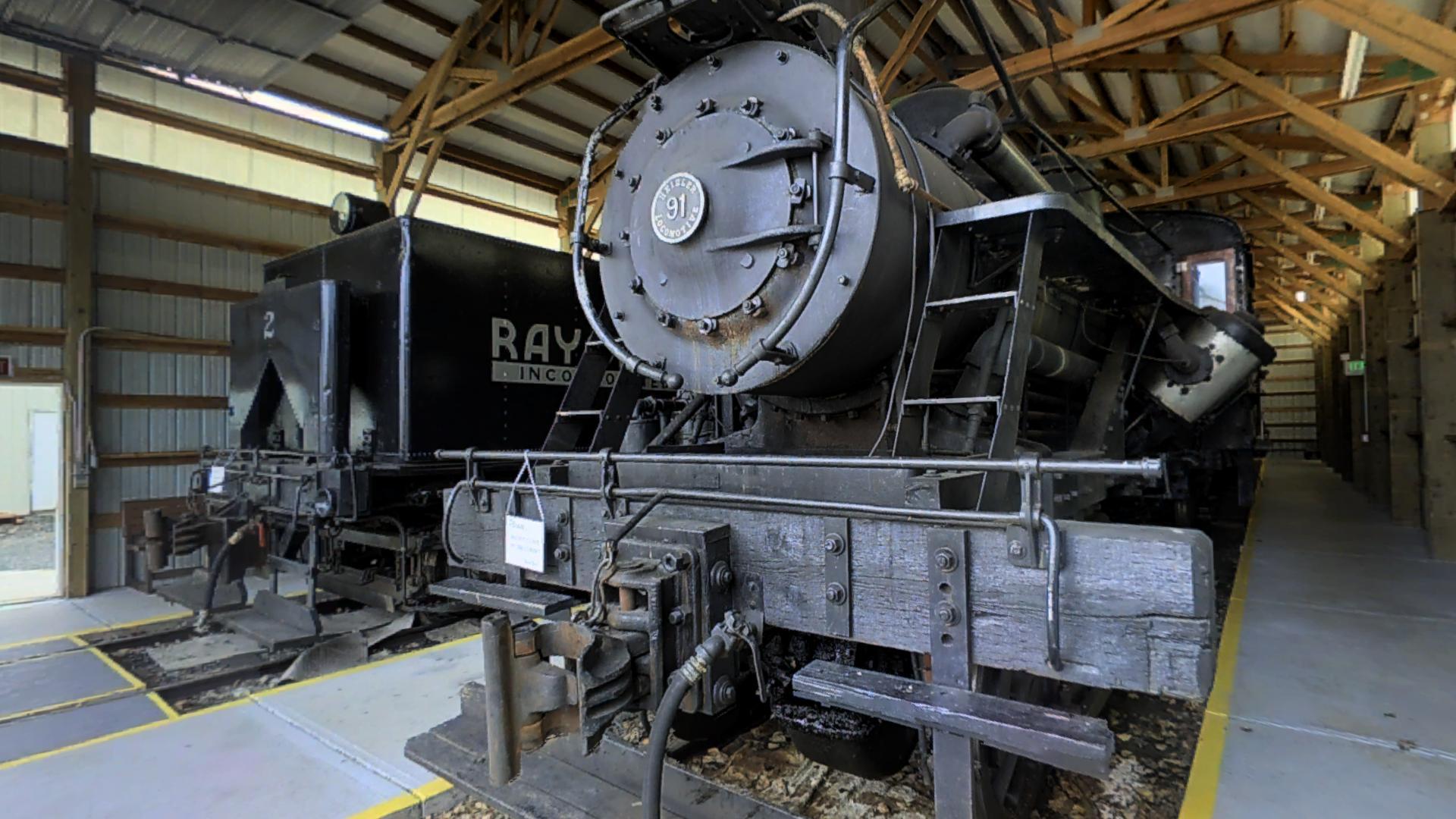 Mt. Rainer Railroad & Logging Museum