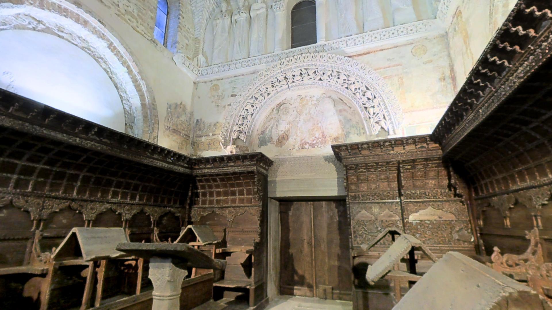 The Lombard Temple In Cividale Del Friuli, Italy