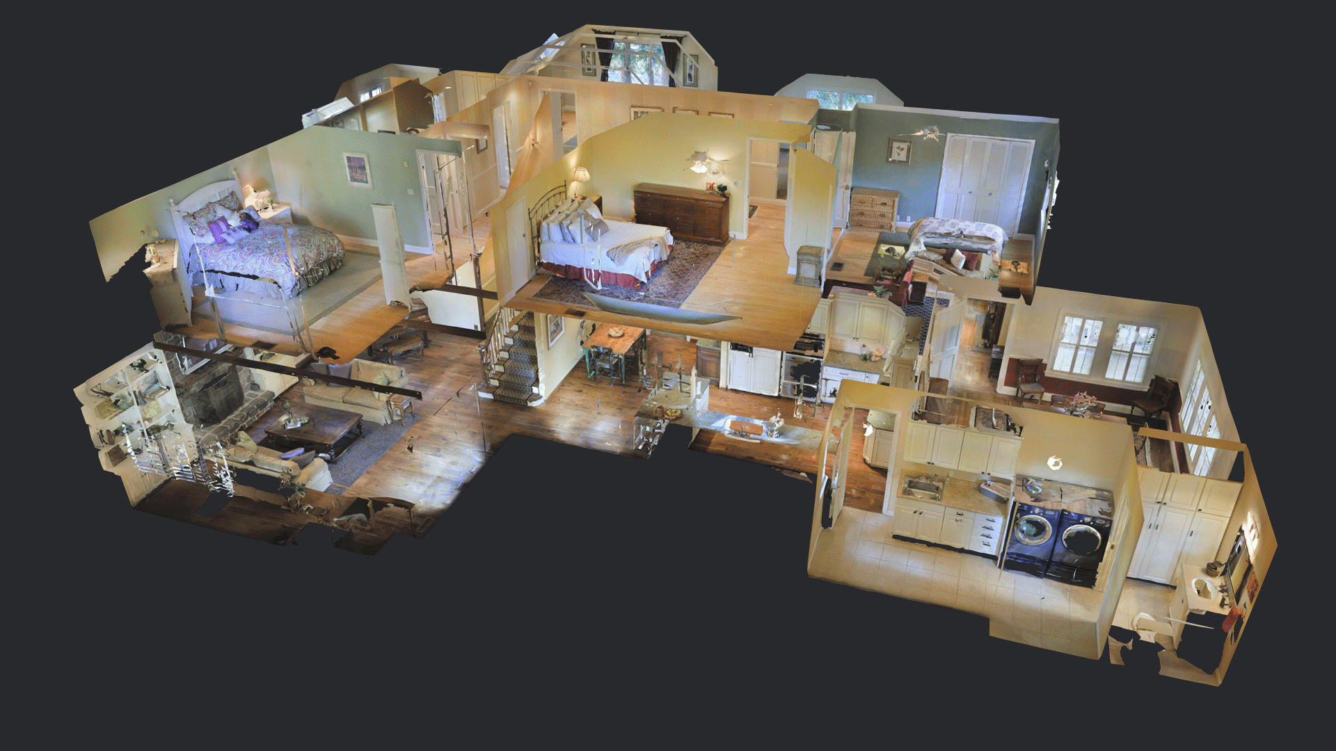 Media kit matterport for 3d virtual tour house plans