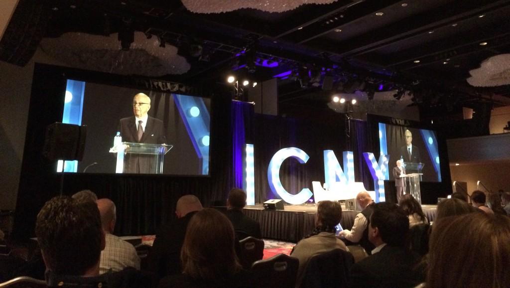 Rupert Murdoch at ICNY
