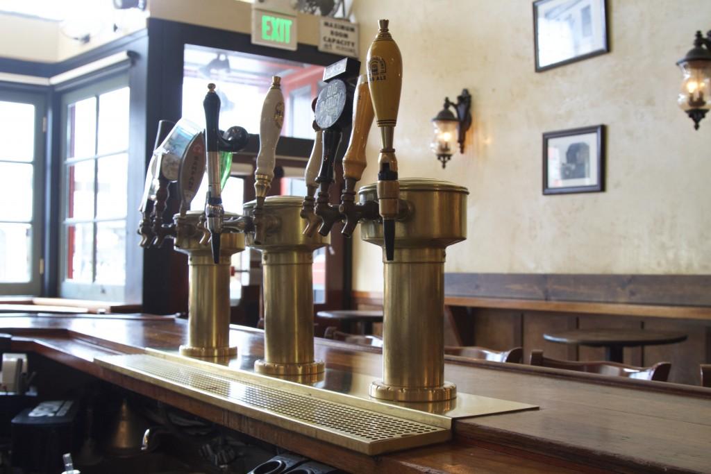 Maggie McGarry's Beer Taps