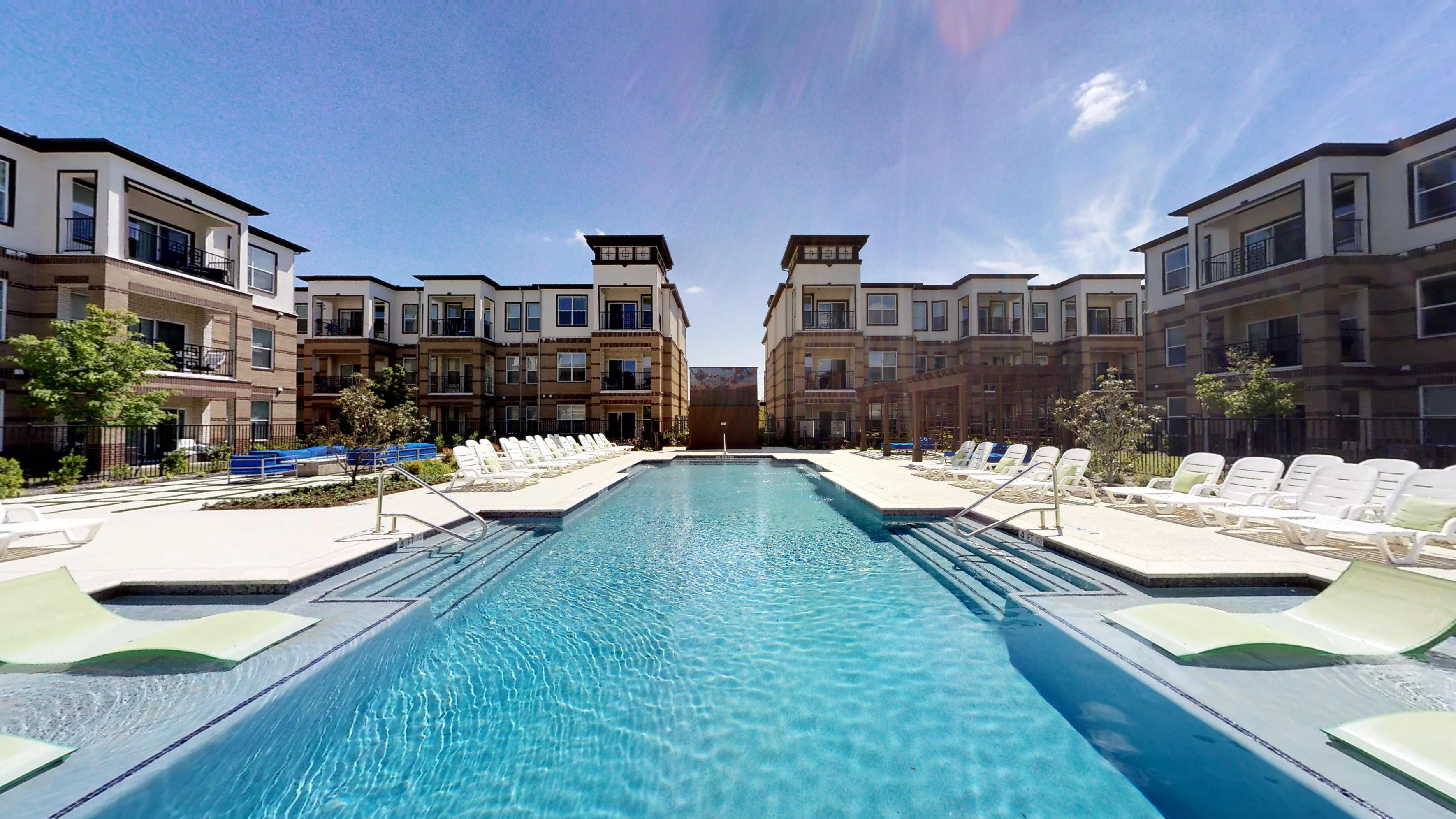 [BLK 360] Mansions McKinney - Resort Pool & Tanning Deck
