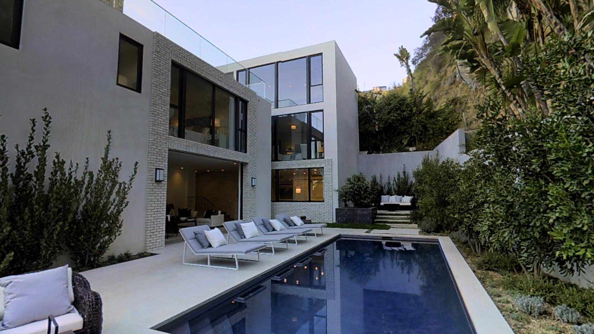 Kendall Jenner S Hollywood Hills Home Matterport