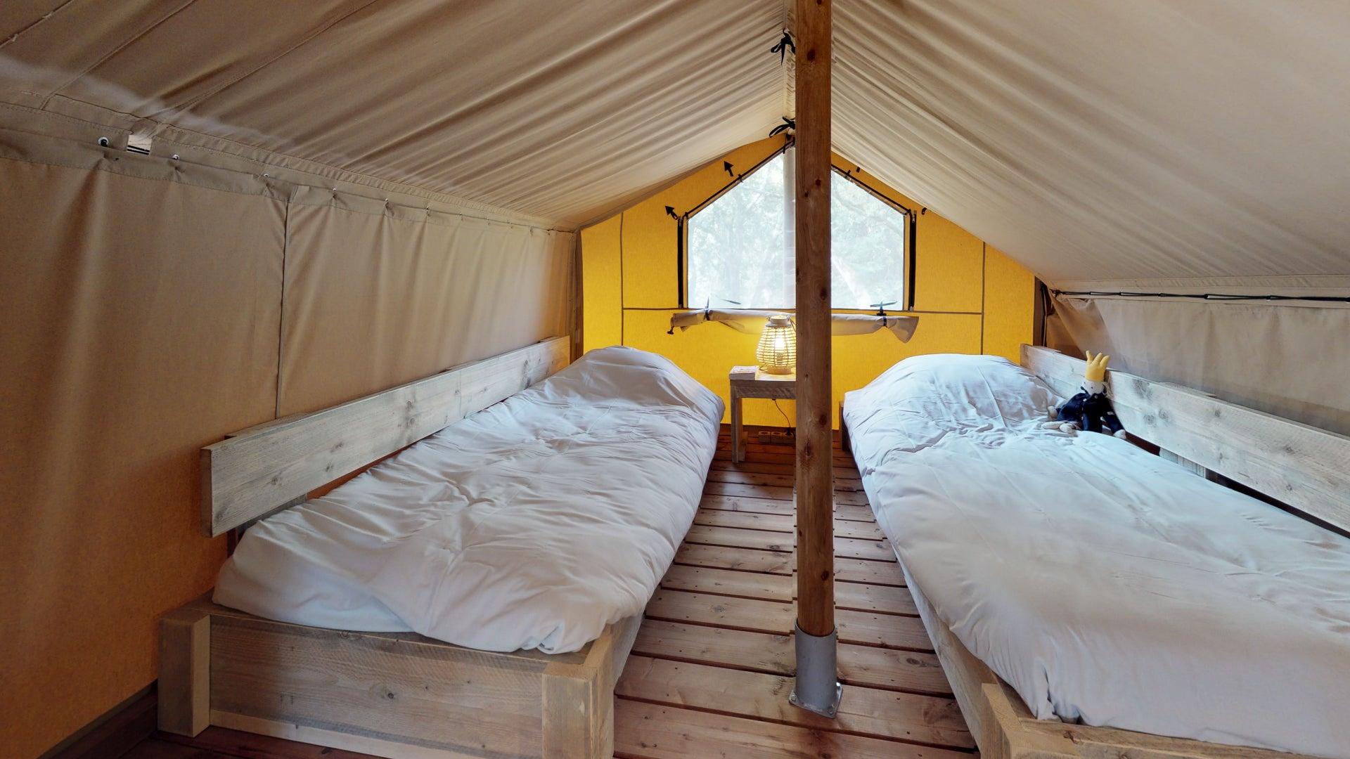 Domaine de Bélézy- Tente Safari Tribu 8-9 Pers