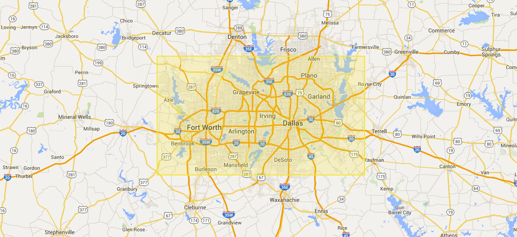 Dallas-Fort-Worth area 3d real estate services