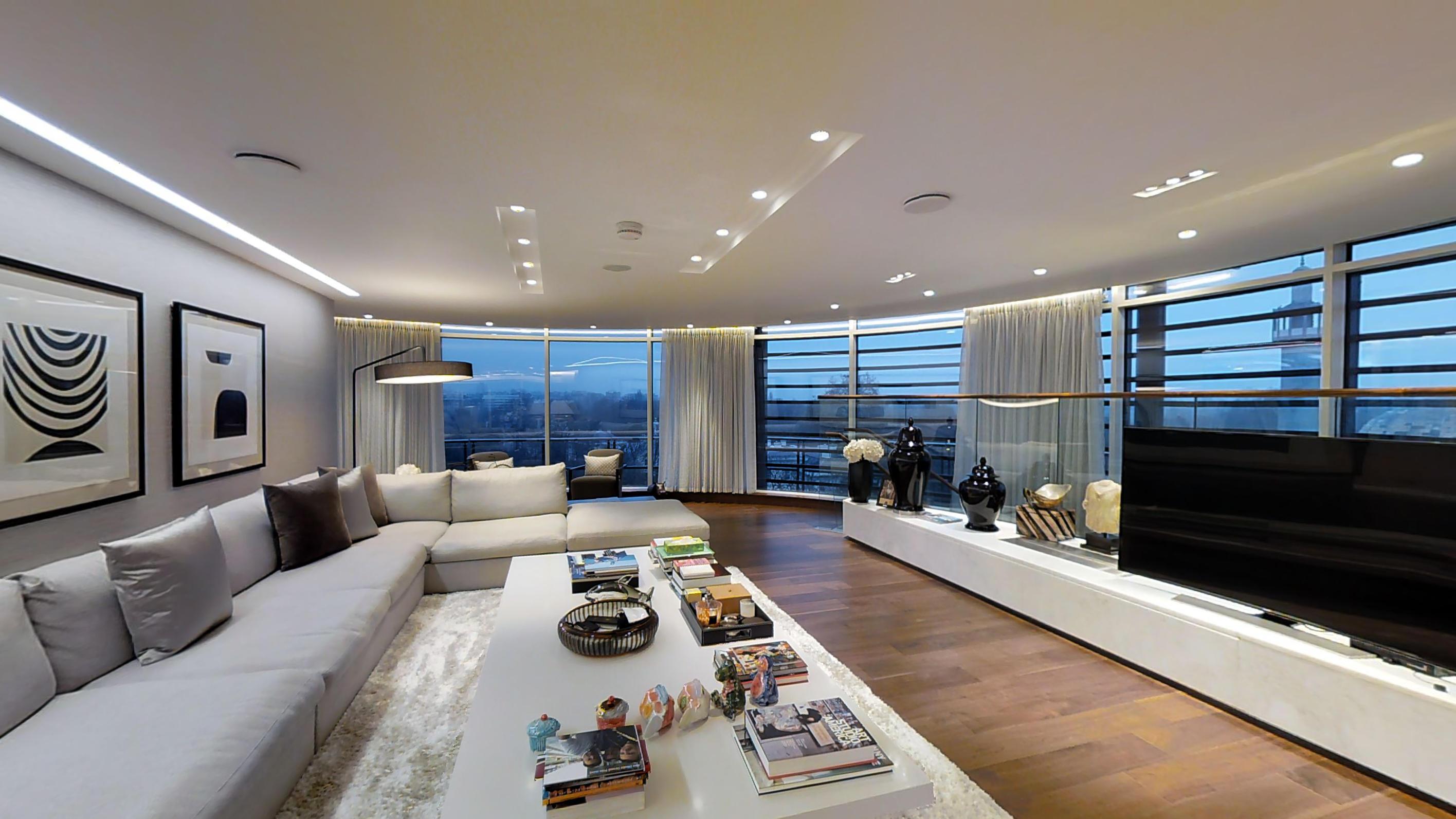 London Penthouse Flat Matterport