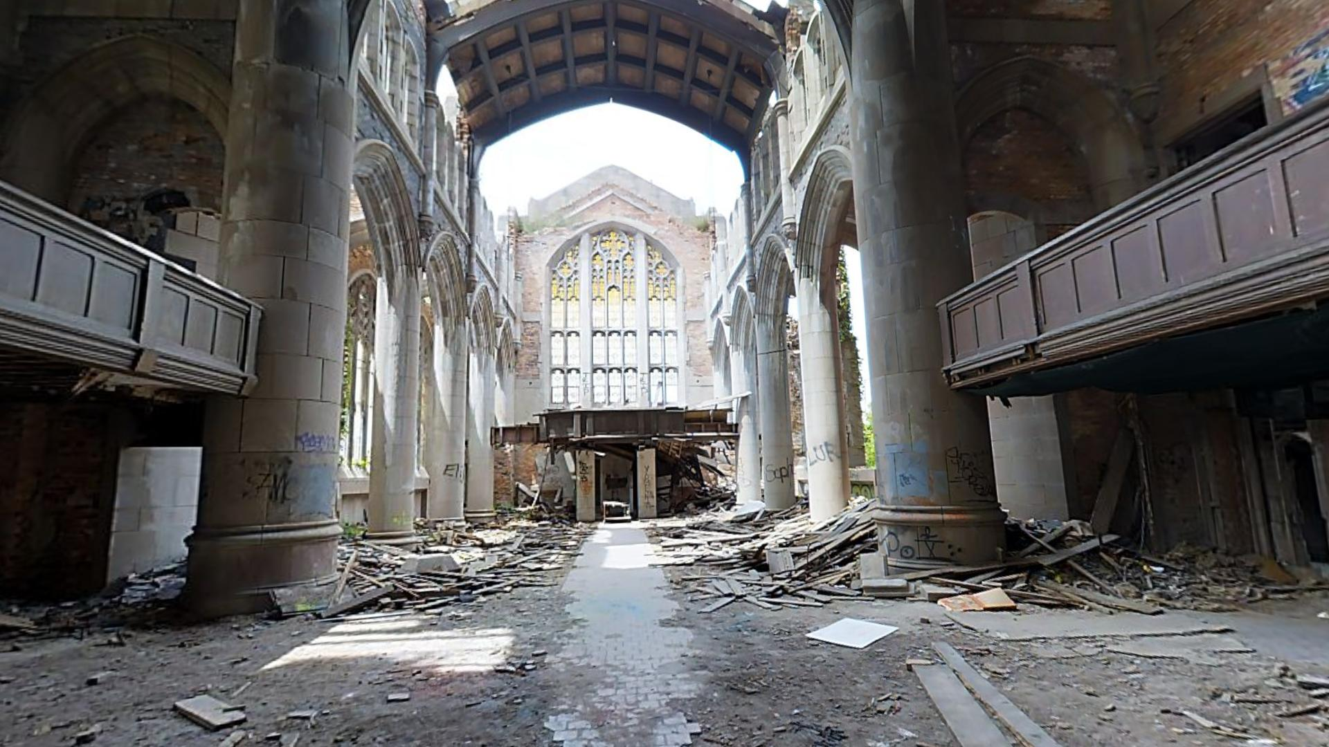Abandonded City Methodist Church