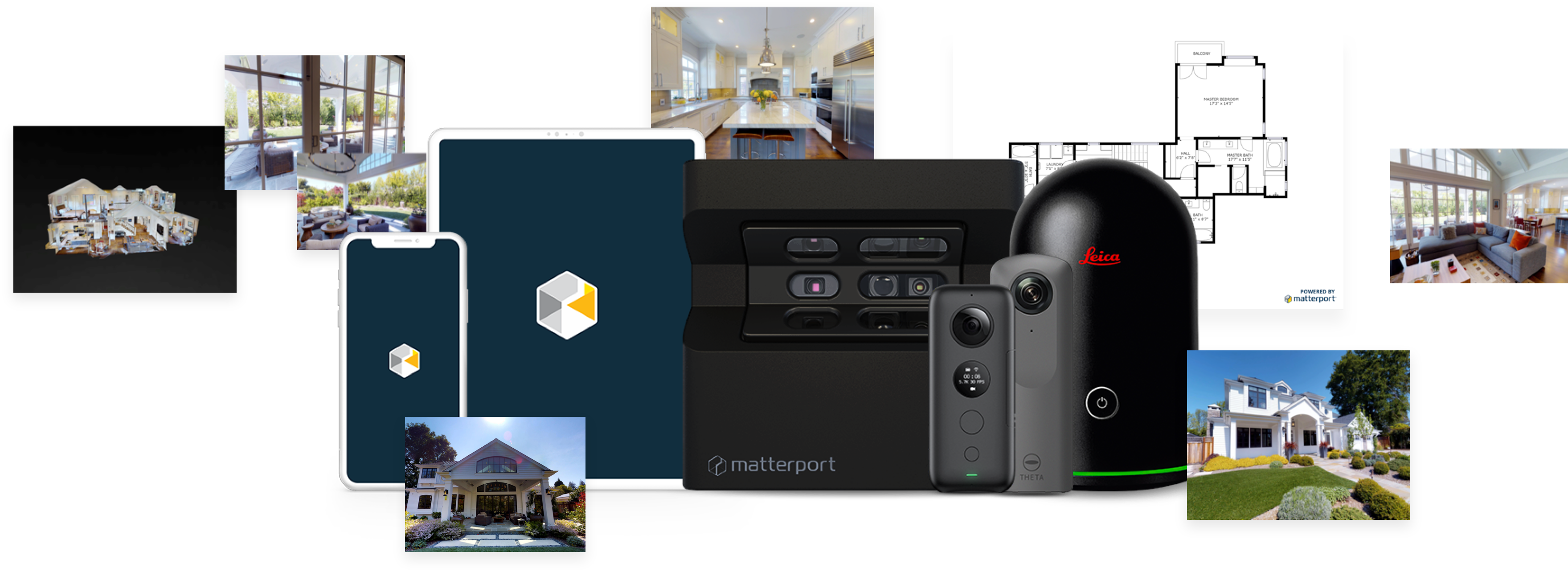 Matterport offers a varity of products for distrubing 3D models