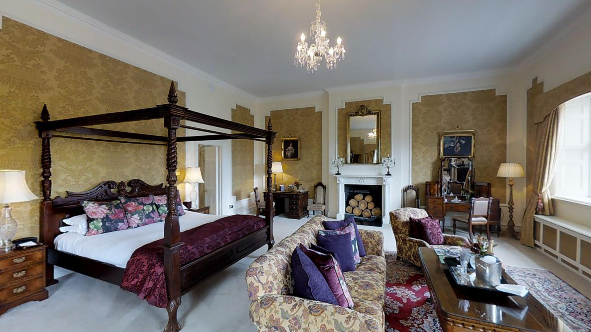 Presidential Suite, Waterford Castle