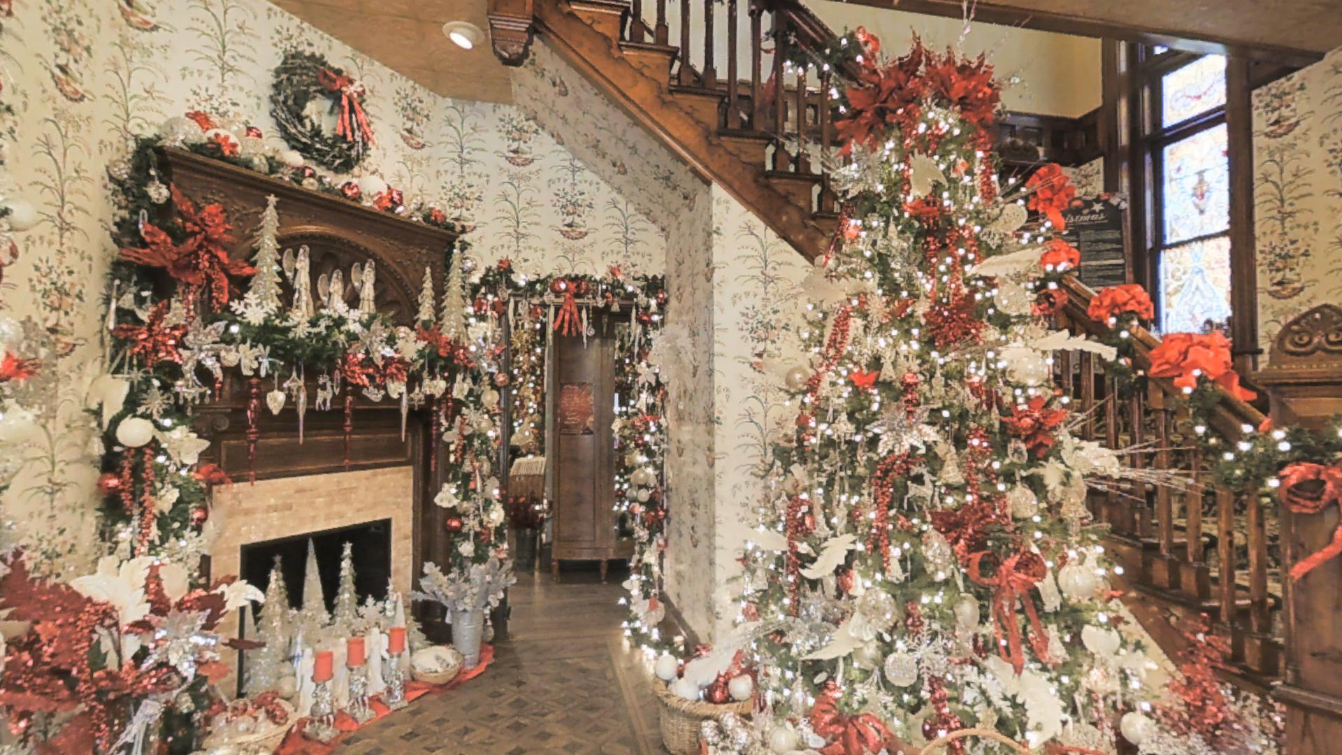 Christmas at Caswell House