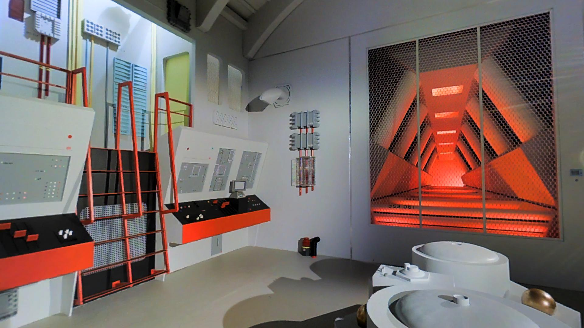 Star Trek Continues Engineering Room