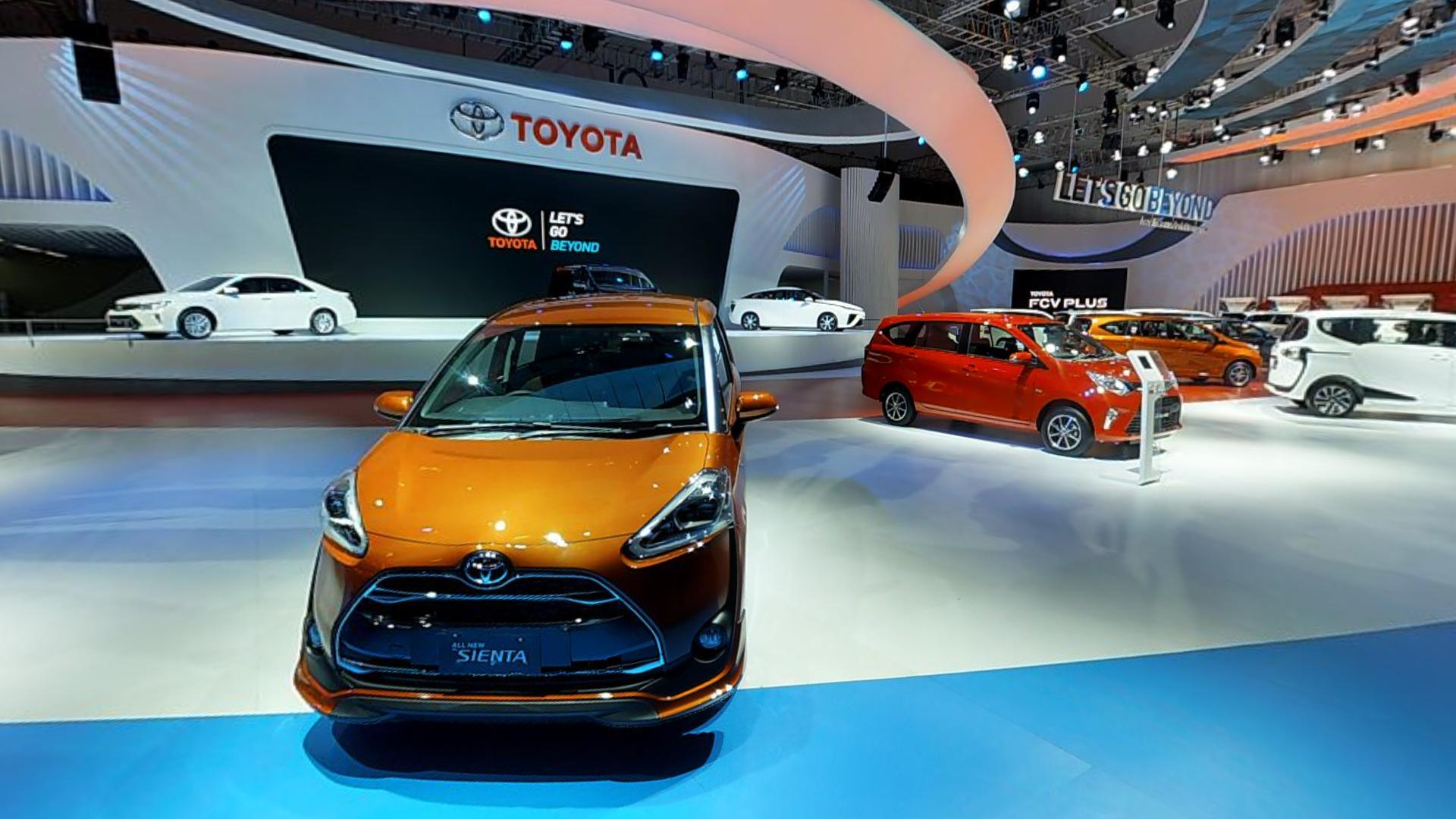 Toyota Booth at GIIAS 2016