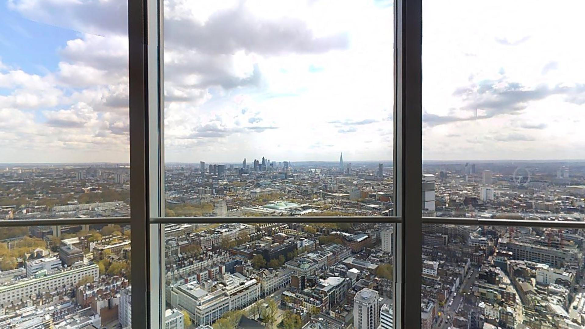 Top of BT Tower, London