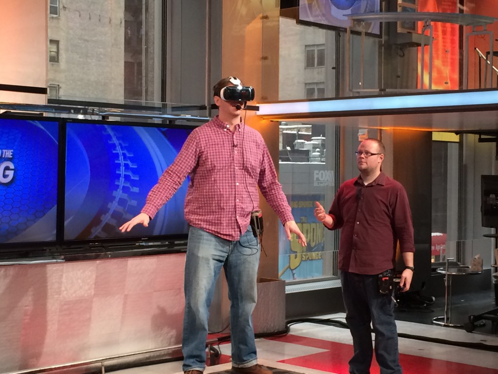 Samsung Gear VR at Fox Business News