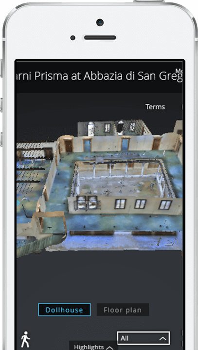 3D Scanning Services can create an immersive 3D model viewable on mobile.
