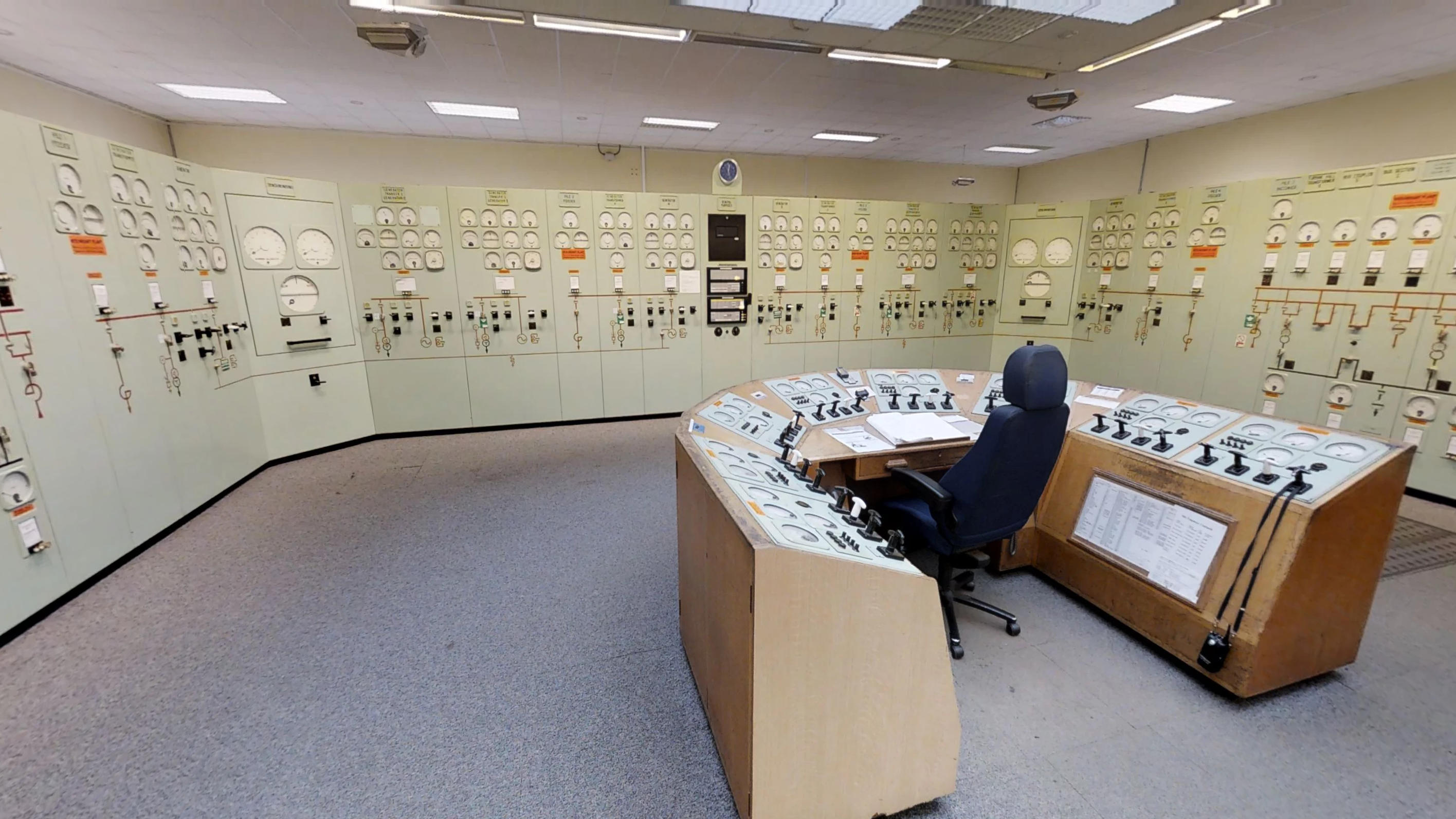 Chapelcross Electrical Control Room