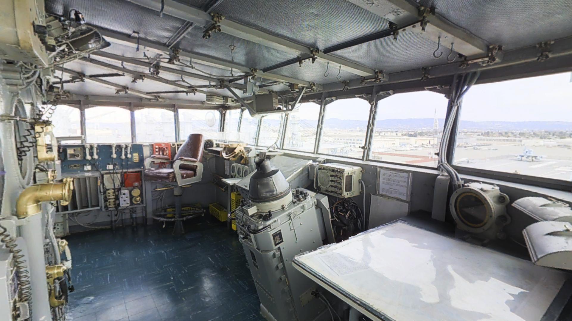 USS Hornet Pilot House