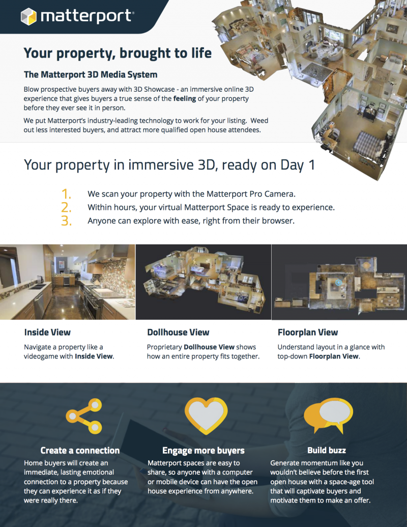 Matterport Guide for Sellers