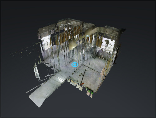 Scanning 3D with actual construction models