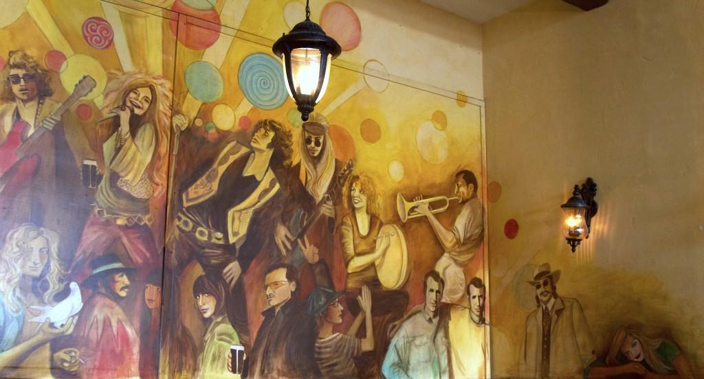 Maggie McGarry's Musician Mural