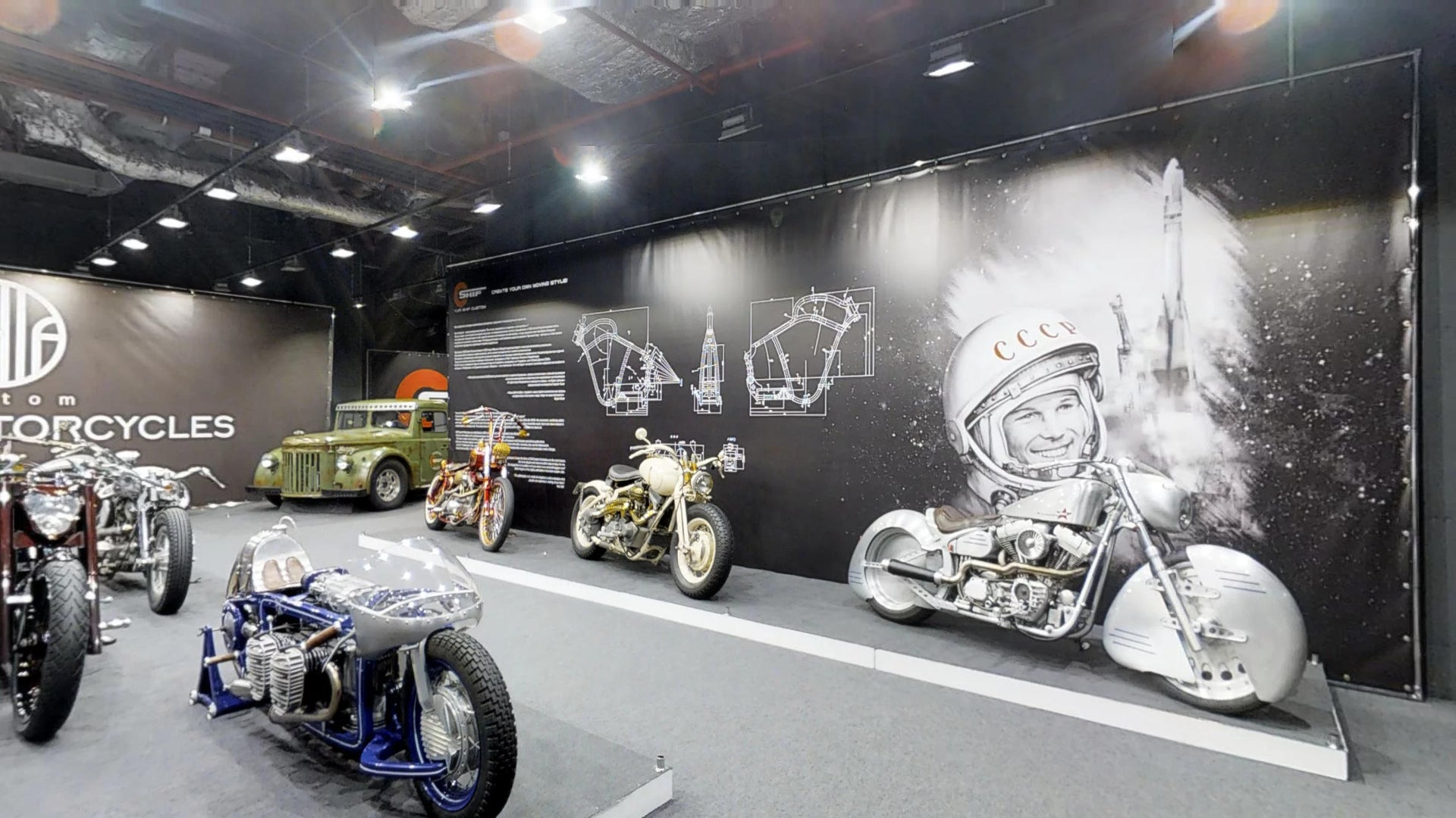 "ShifCustom Gallery  ""ART OF MOTORCYCLES"""