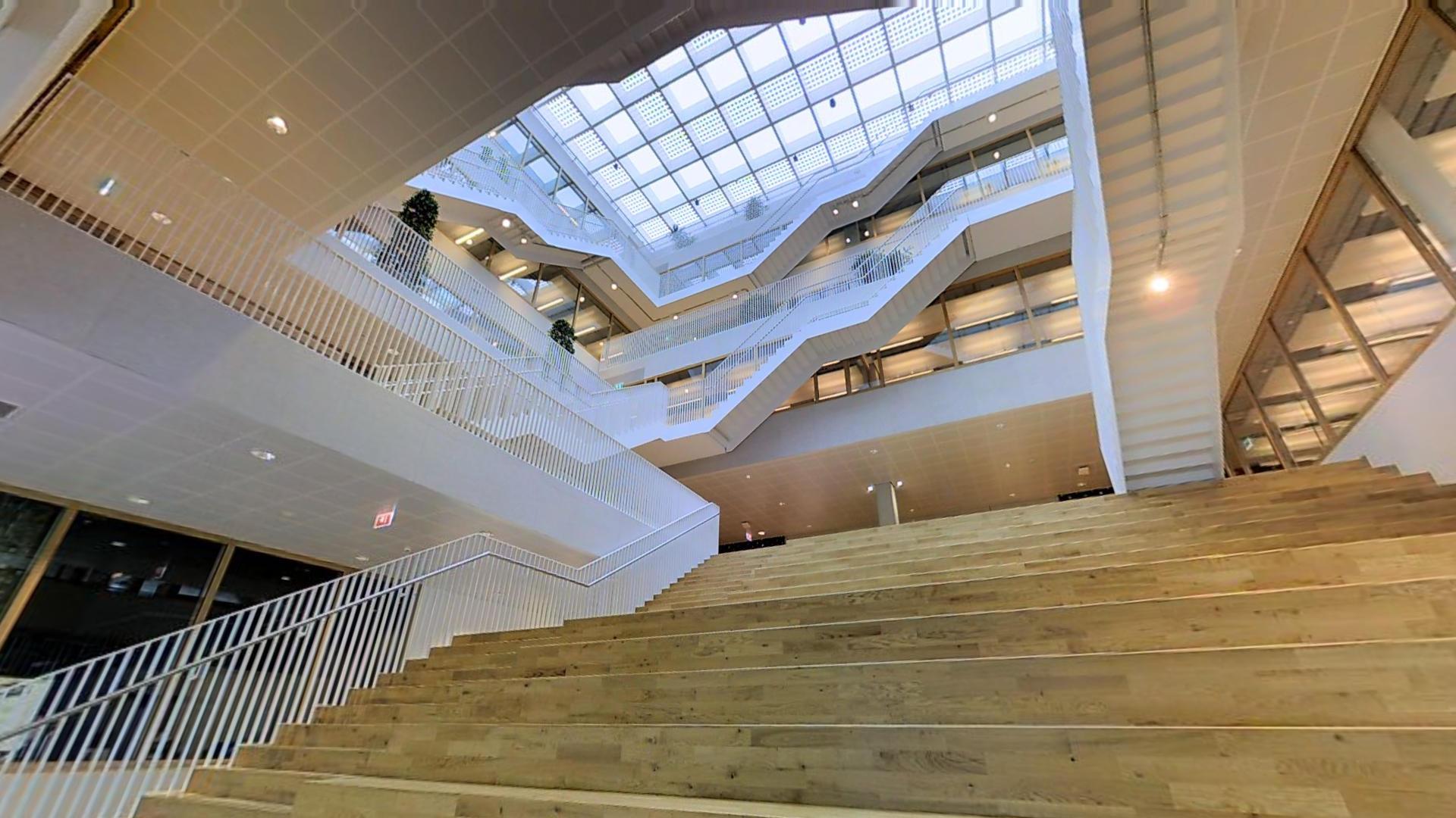Polak Building Atrium