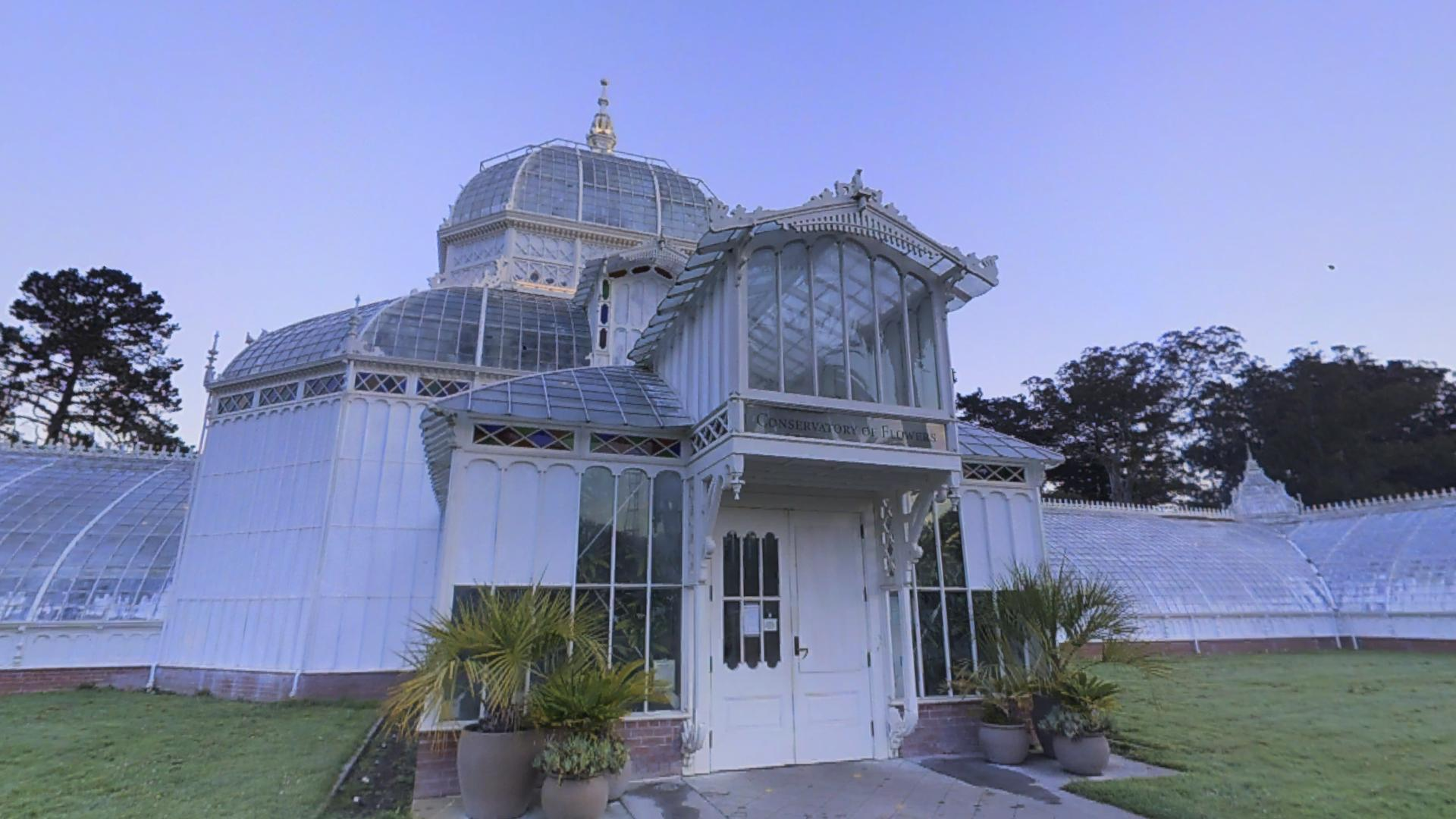 Conservatory of Flowers Exterior