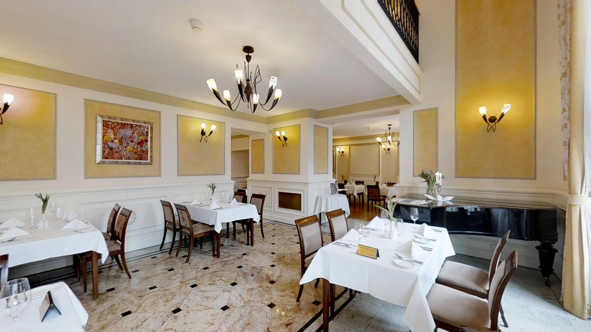 Restauracja BelEtage w IBB Grand Hotelu Lublinianka