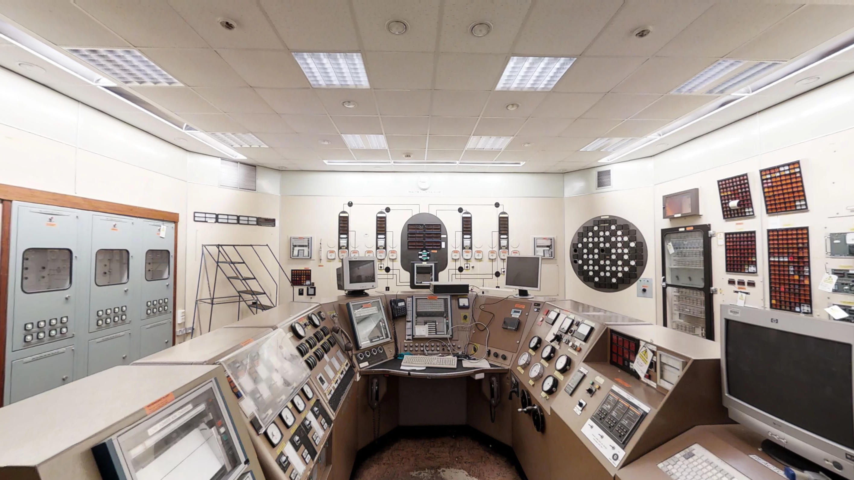 Chapelcross Reactor Control Room