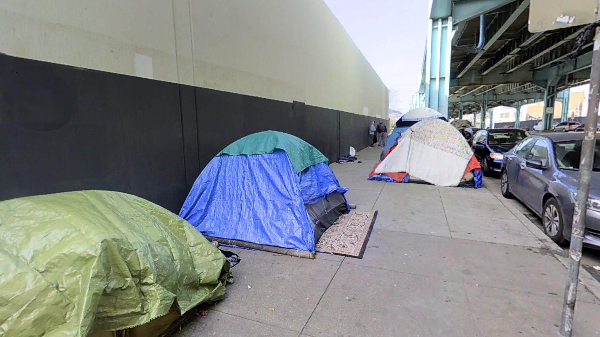 13th Street Tent City