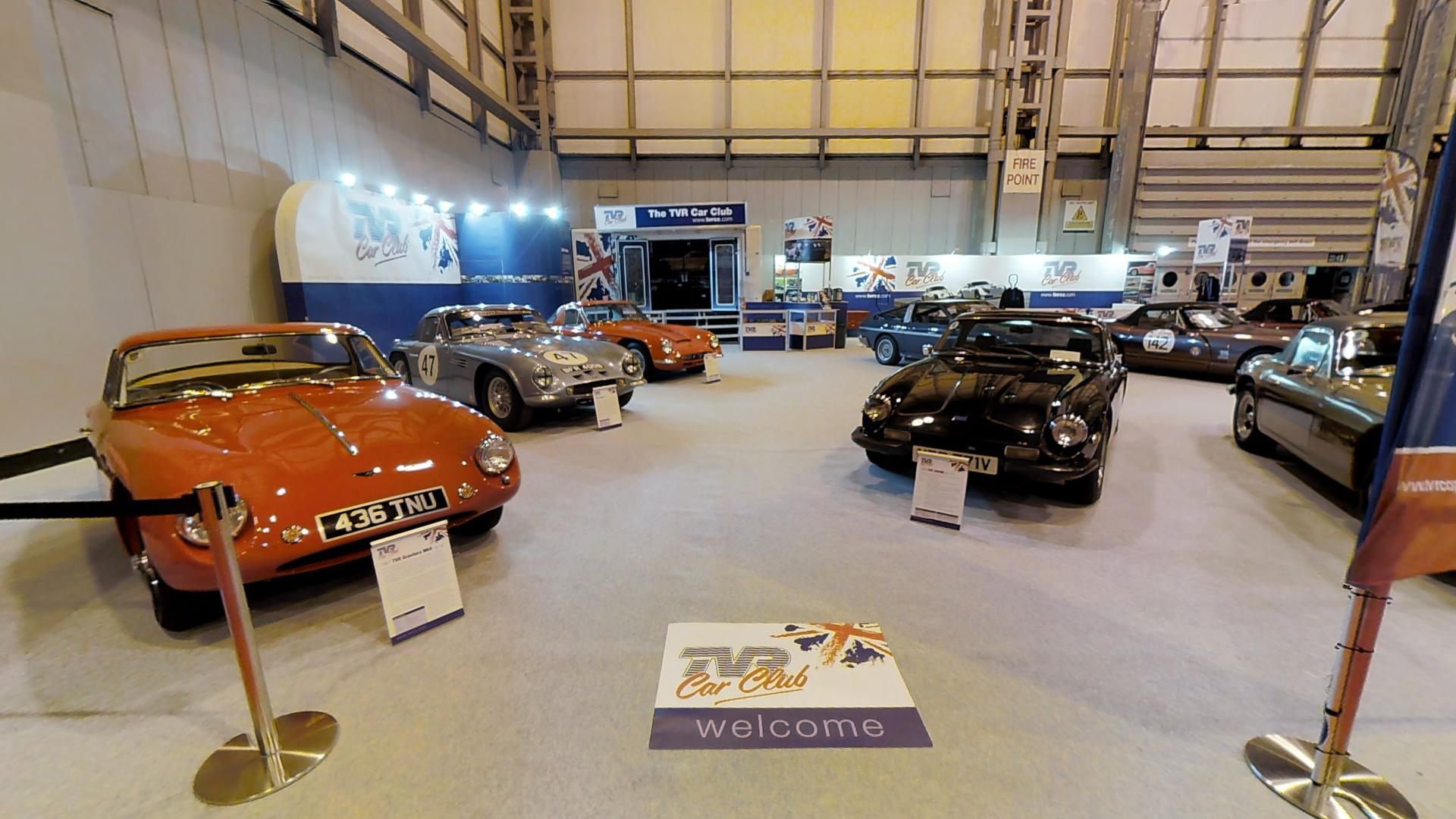 TVR Car Club booth - NEC Classic Car Show 2016