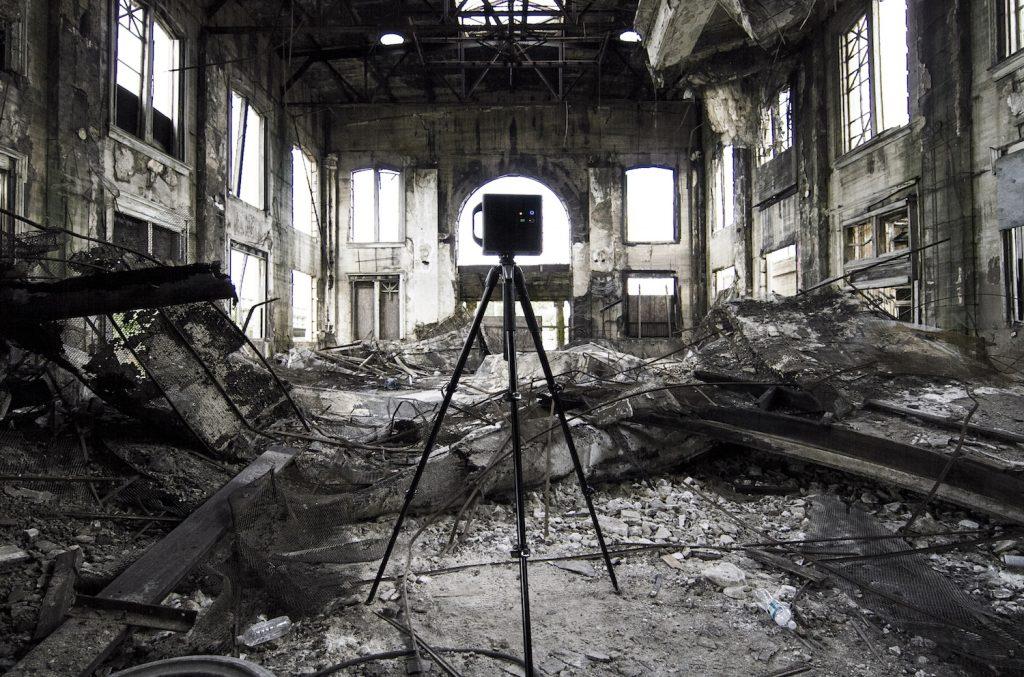Matterport Camera Dramatic