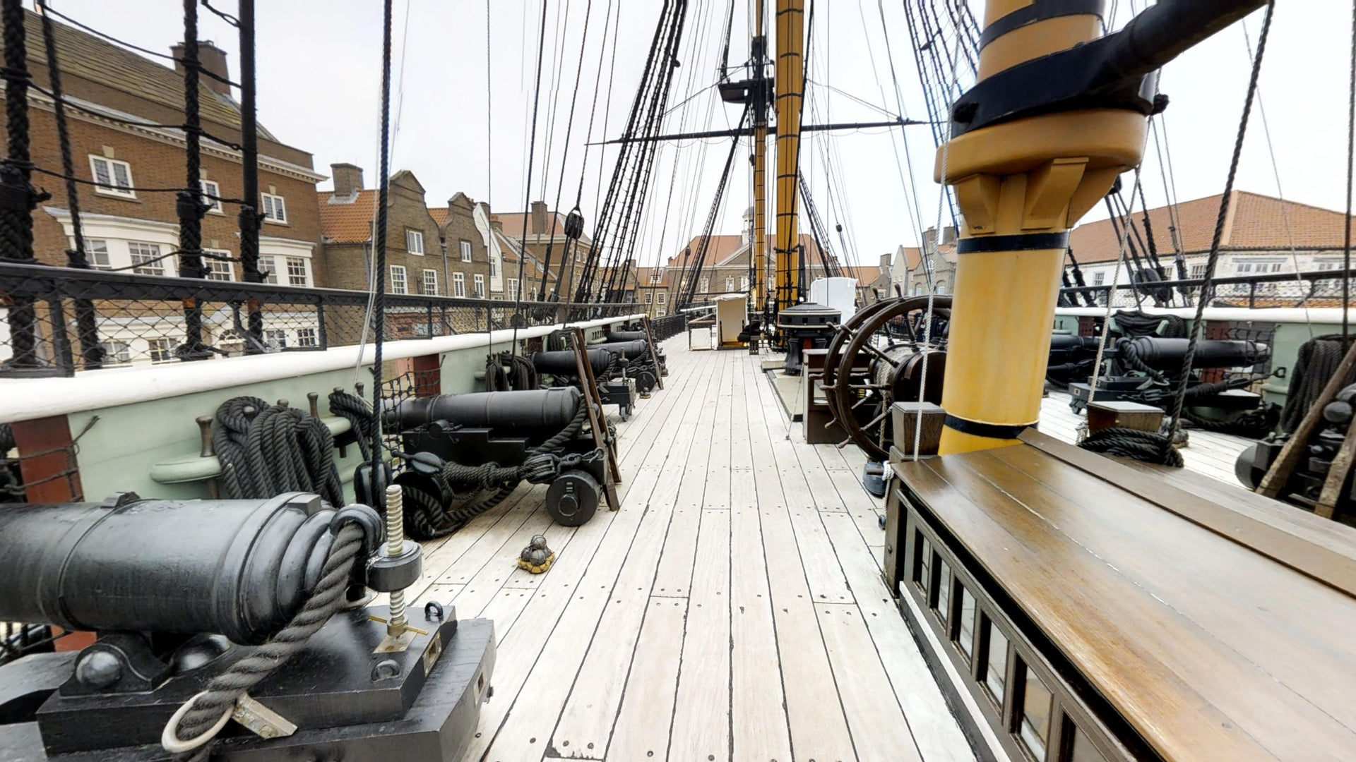The National Museum of the Royal Navy: HMS Trincomalee