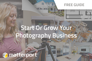 [ebook] Start or Grow Your Photography Business with Matterport
