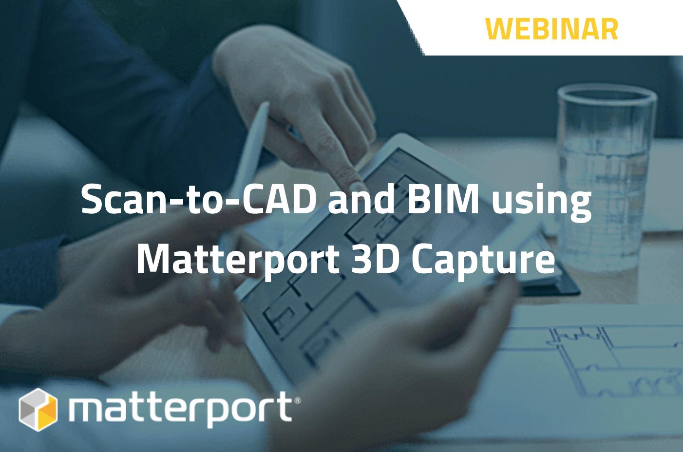 [On-Demand Webinar] Scan-to-CAD & BIM